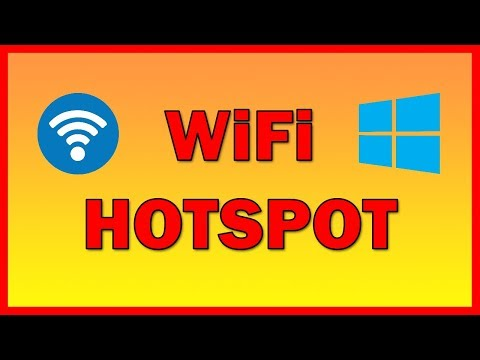 How to create and set a WiFi Hotspot on Windows 10 - Tutorial