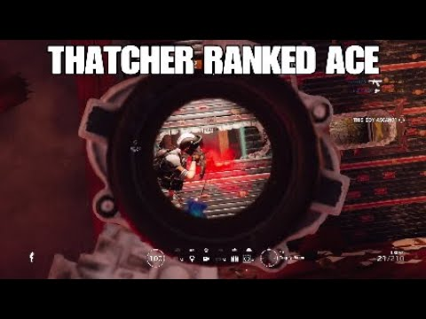 Thatcher RANKED Ace - Rainbow Six Siege