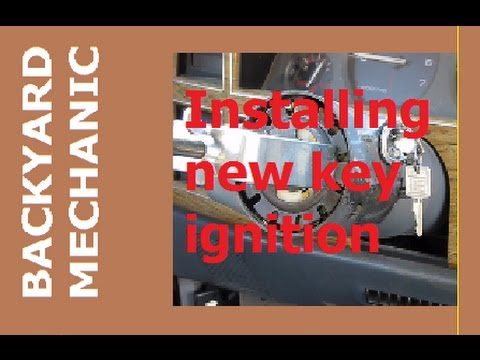 BACK YARD MECHANICS - Replacing Key Ignition Switch On Jeep