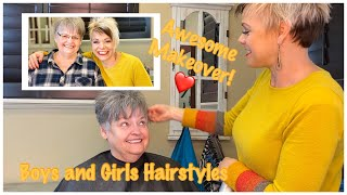 Super Short Haircuts for Women Over 70 | Pixie Haircut