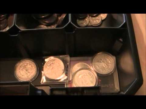 How to find uncirculated rolls of coins