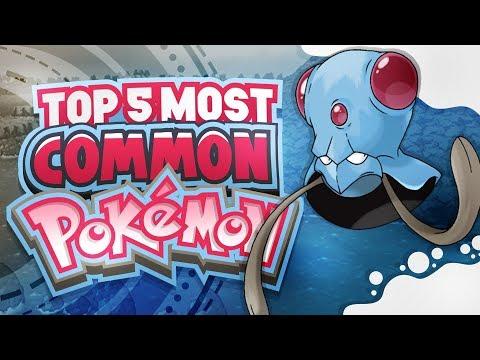 Top 5 Most Common Pokemon