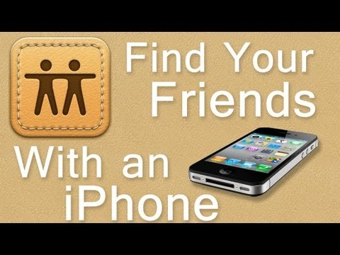 How to Find your Friends with an iPhone