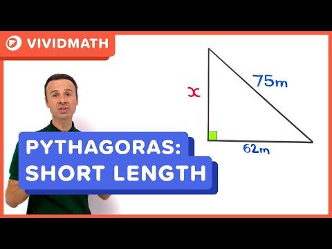 Using Pythagoras Formula - VividMaths.com