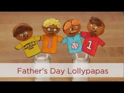 Father's Day Gifts: Homemade Candy and Cookie Lollipops