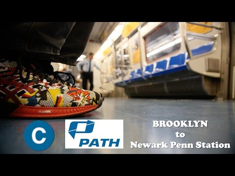 Brooklyn to WTC to Newark Penn Station