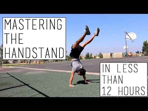 Mastering the HANDSTAND in ONE DAY