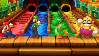 Mario Party Star Rush - All Free-for-All Minigames