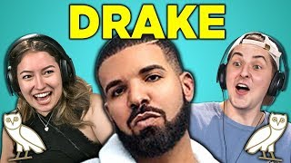 ADULTS REACT TO DRAKE - IN MY FEELINGS