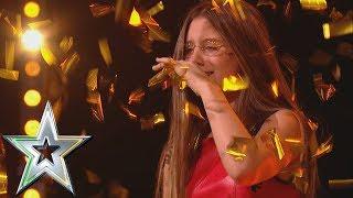 14 year old singer Iveta gets Michelle's Golden Buzzer! | Ireland's Got Talent 2019