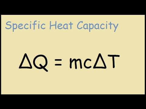 Specific Heat Capacity Example Problem - Physics