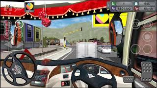 Bus Simulator Indonesia #BUSSID Fast Driving !