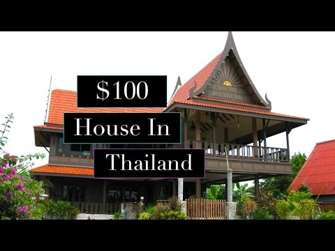 How Cheap Is Thailand..$100 House In Thailand..Renting In Chiang Mai..House Tour In Thailand