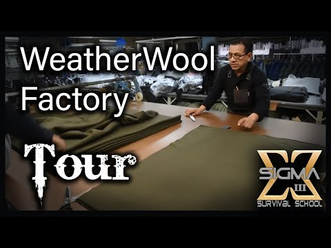 WeatherWool Factory and Tailoring Tour