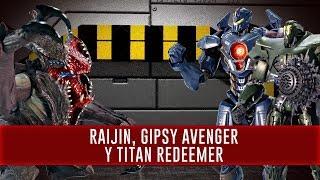 Gipsy Avenger, Titan Redeemer y Raijin - Robot Spirits | Out of da Box