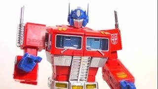 AUVELIER REVIEW: TRANSFORMERS MASTERPIECE OPTIMUS PRIME (EXCLUSIVO DE TOYS R US) EN ESPAÑOL