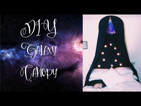 DIY Galaxy Canopy