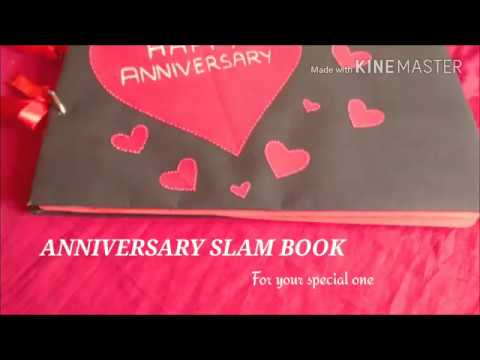Anniversary Slam Book ❤