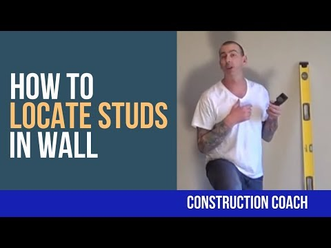 How to Locate Studs in Wall