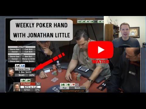 Weekly Poker Hand, Episode 205: An Interesting spot