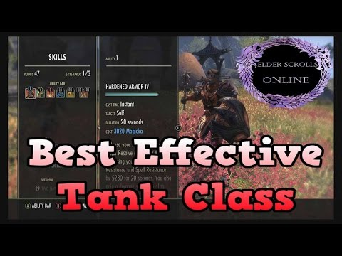 ESO - Best Effective Tank Class Build PvP & PvE