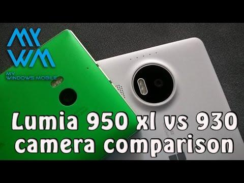 Camera comparison 950XL vs 930 Low light /Night