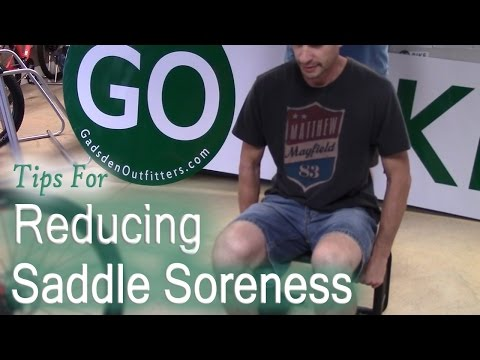 How To Reduce Saddle Soreness On A Bicycle (Cycling)