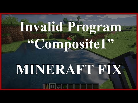 SEUS Minecraft FIX | [Shaders] Error Invalid Program