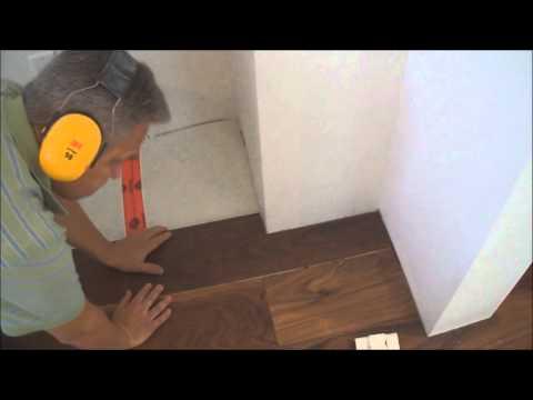 How to Install Floating Hardwood Laminate Flooring around a Corner Mryoucandoityourself