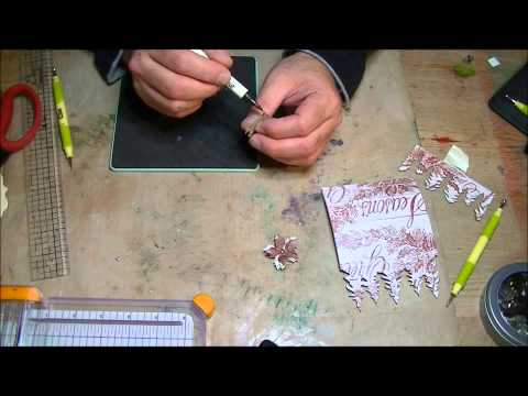 How To Make A Christmas Placecard Holder!