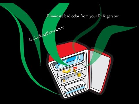Quick Tip # 9 - Eliminate Bad Odor From Your Refrigerator | How To Get Rid Of Bad Odors From Fridge