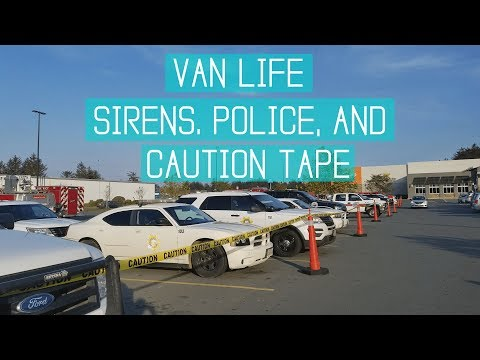Van Life: We Woke up Surrounded by Police!
