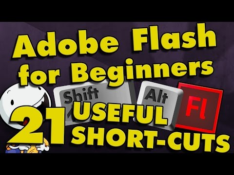 21 Useful Shortcuts for Adobe Flash CS6 & CC (Part 5)