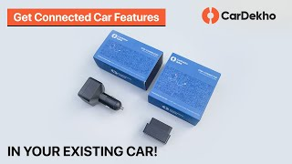 CarDekho Uplink: GPS Vehicle Tracking System for Cars - Unboxing, Installation & Features In Hindi