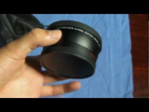 Neewer 58mm 0.45x Wide Angle Lens Unboxing
