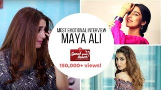 Maya Ali   Teefa In Trouble with Ali Zafar   Mann Mayal   Speak Your Heart With Samina Peerzada
