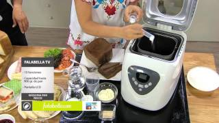 recetas de pan con maquina recco