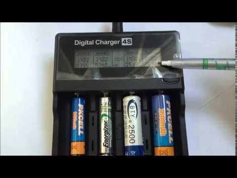 AA AAA battery test