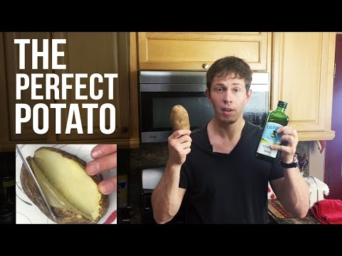 How to Cook a PERFECT Microwave Baked Potato