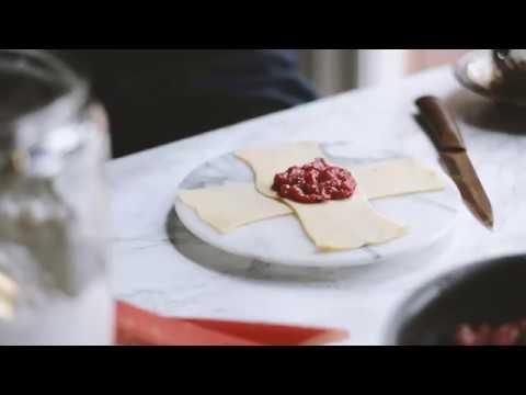 Shaping Lattice Pie Crust