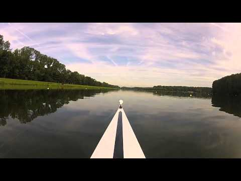 Road to london, New Zealand rowing team