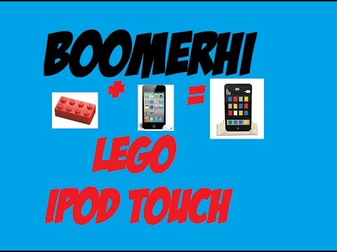 LEGO iPod Touch: How to make a LEGO iPod Touch