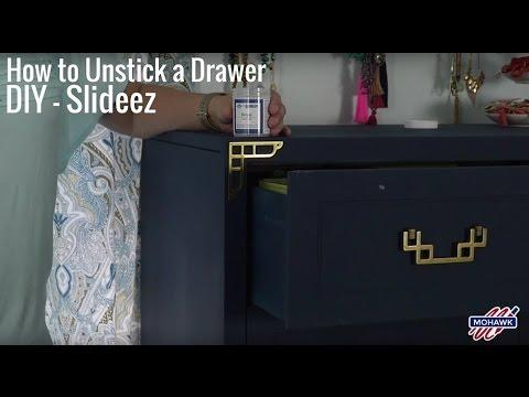 How to Unstick a Drawer DIY - Slideez