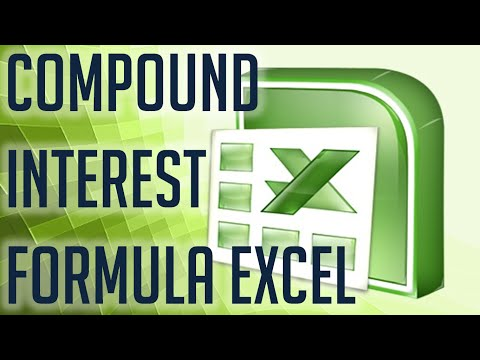 [Free Excel Tutorial] COMPOUND INTEREST FORMULA EXCEL - Full HD