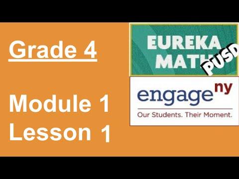 Eureka Math Grade 4 Module 1 Lesson 1