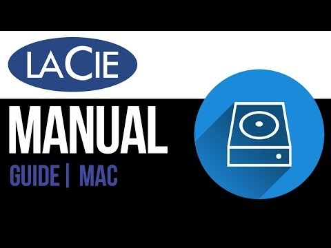 LaCie external hard drive Set Up Guide for Mac 2019