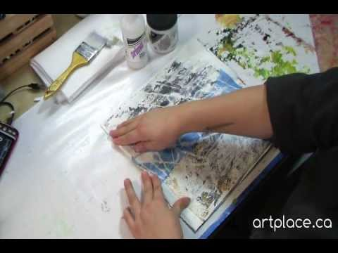 Create an Art Journal from your Weekly Flyers or Newspapers