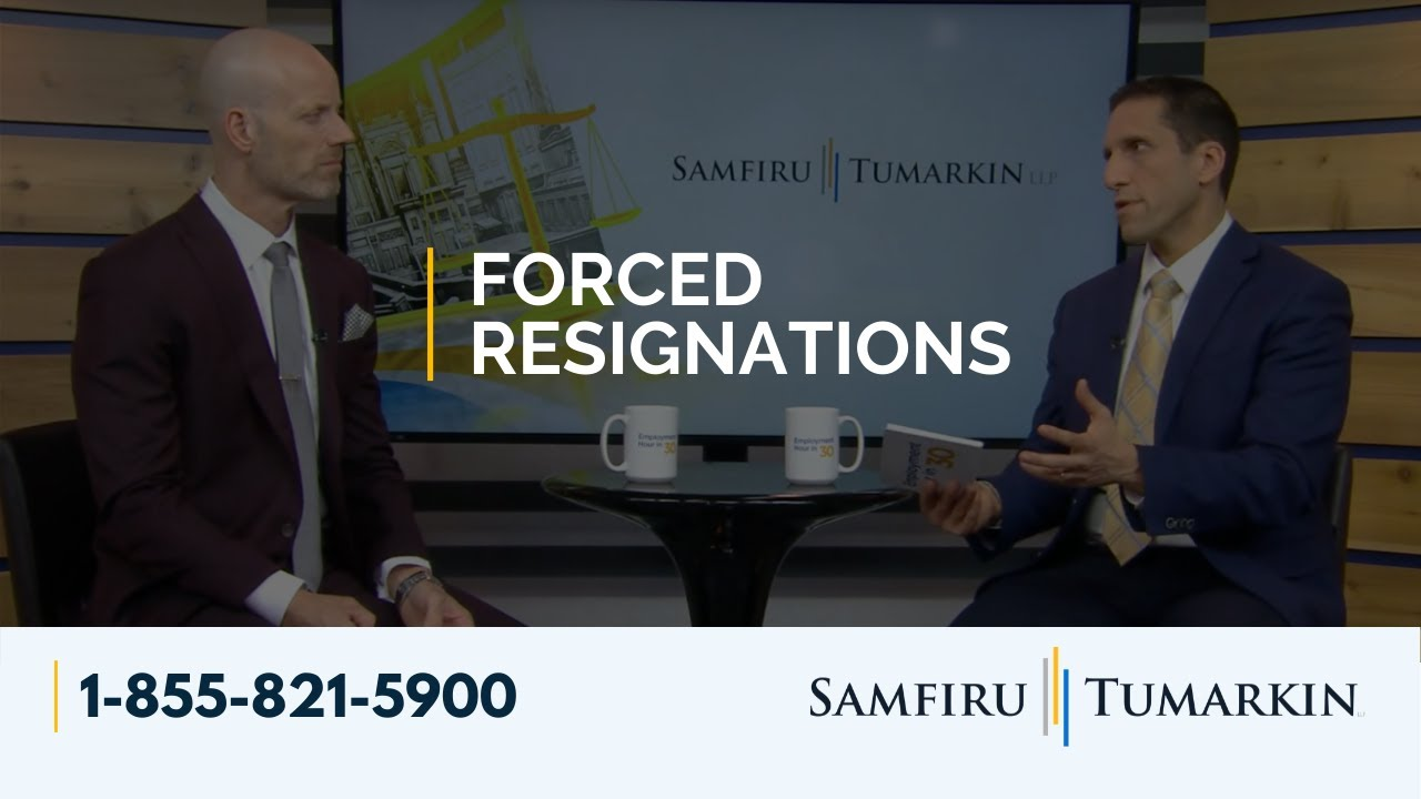 Forced Resignations - Employment Law Show: S3 E24