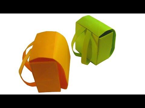 Amazing Origami Backpack