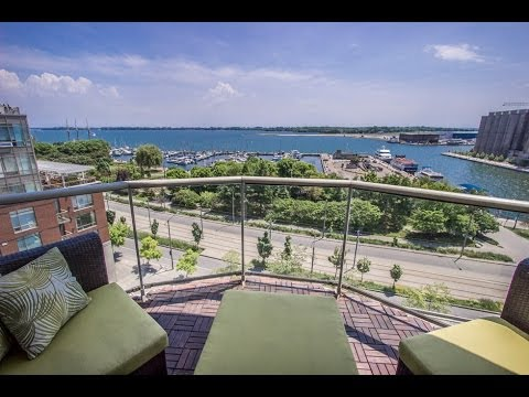 550 Queens Quay West | 2 Bedroom, Lakeview Condo For Sale | Toronto